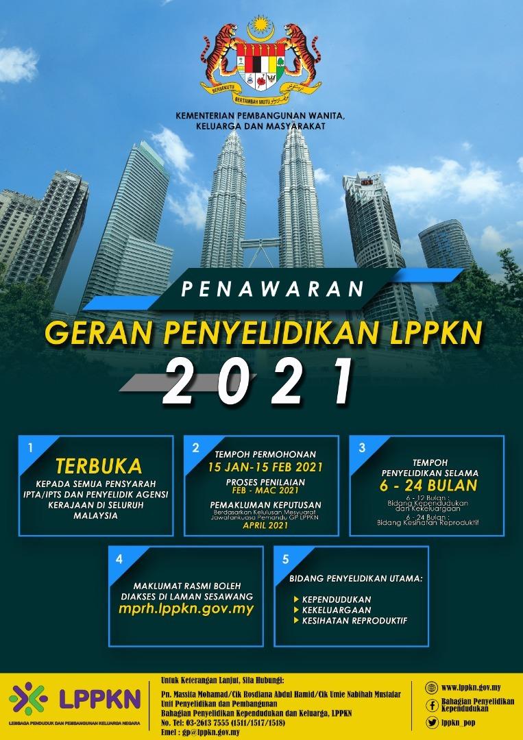 PENAWARAN GERAN PENYELIDIKAN LPPKN 2021